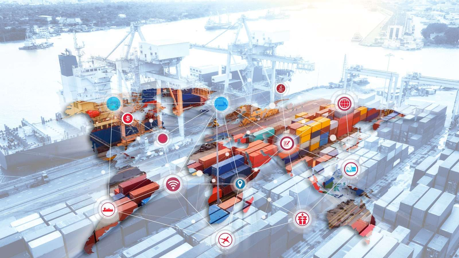 International ocean freight shipping